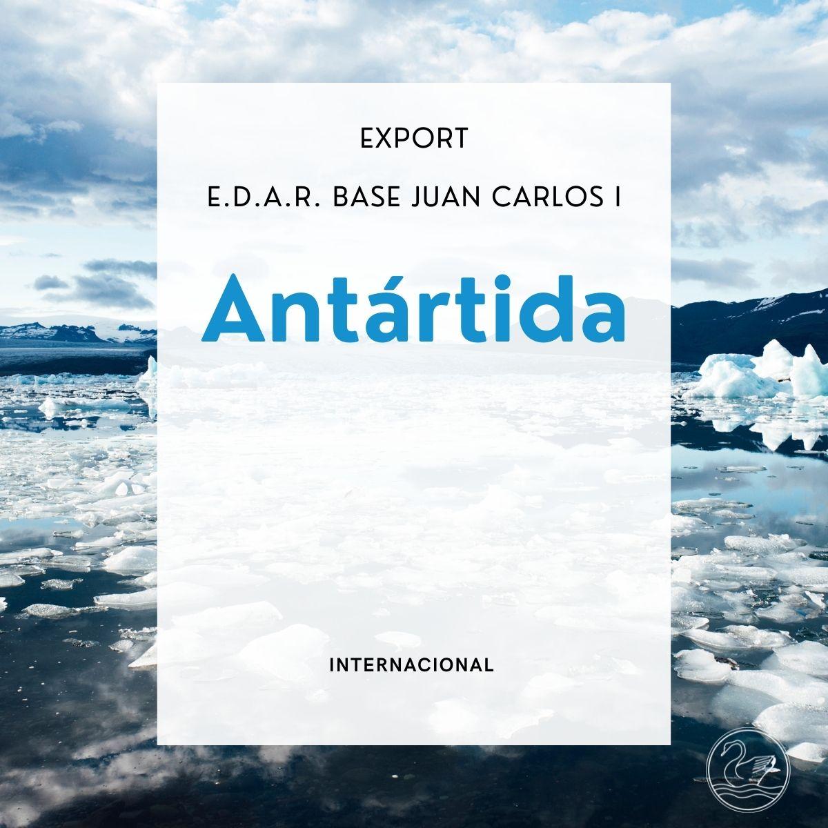 Export: E.D.A.R. Bade Juan Carlos I en la Antártida