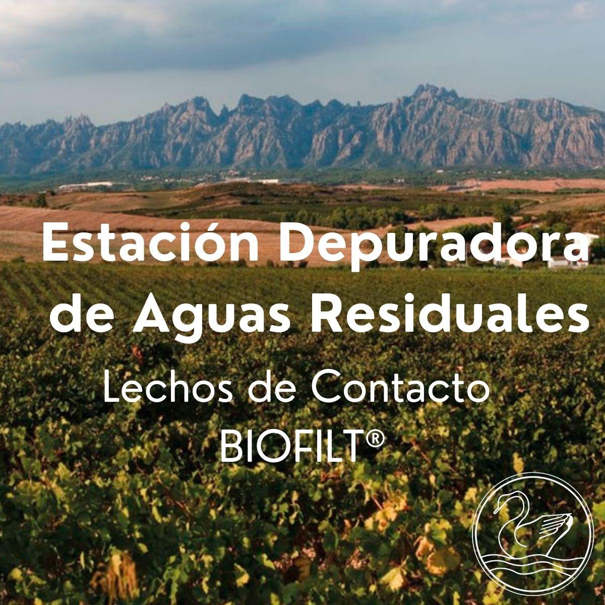 Estación Depuradora de Aguas Residuales - Lechos de contacto BIOFILT