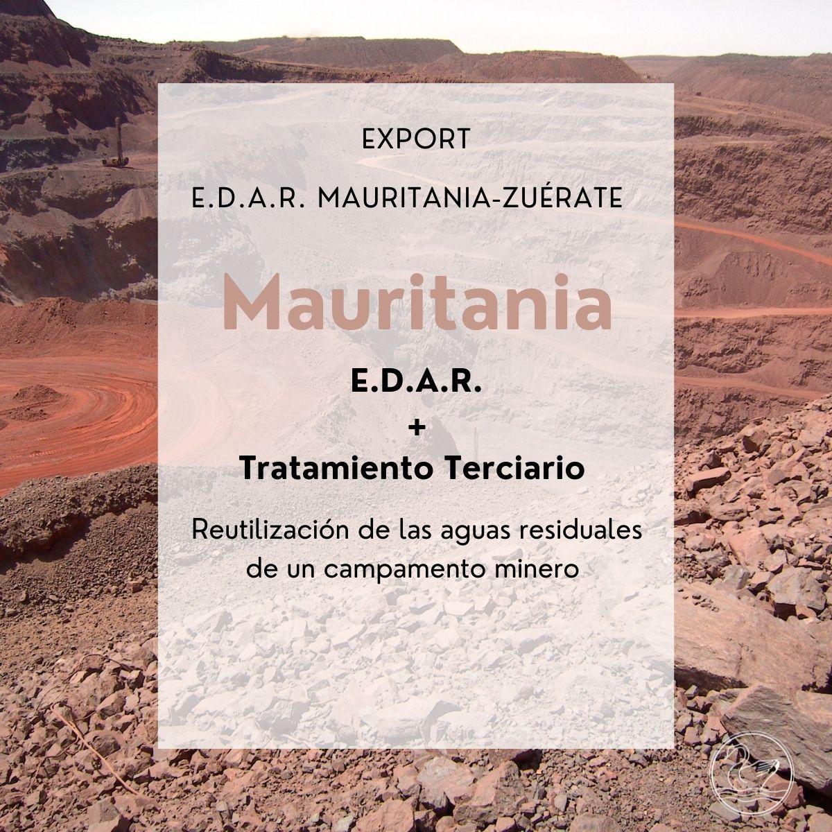 Export : Mauritania - Zuérate