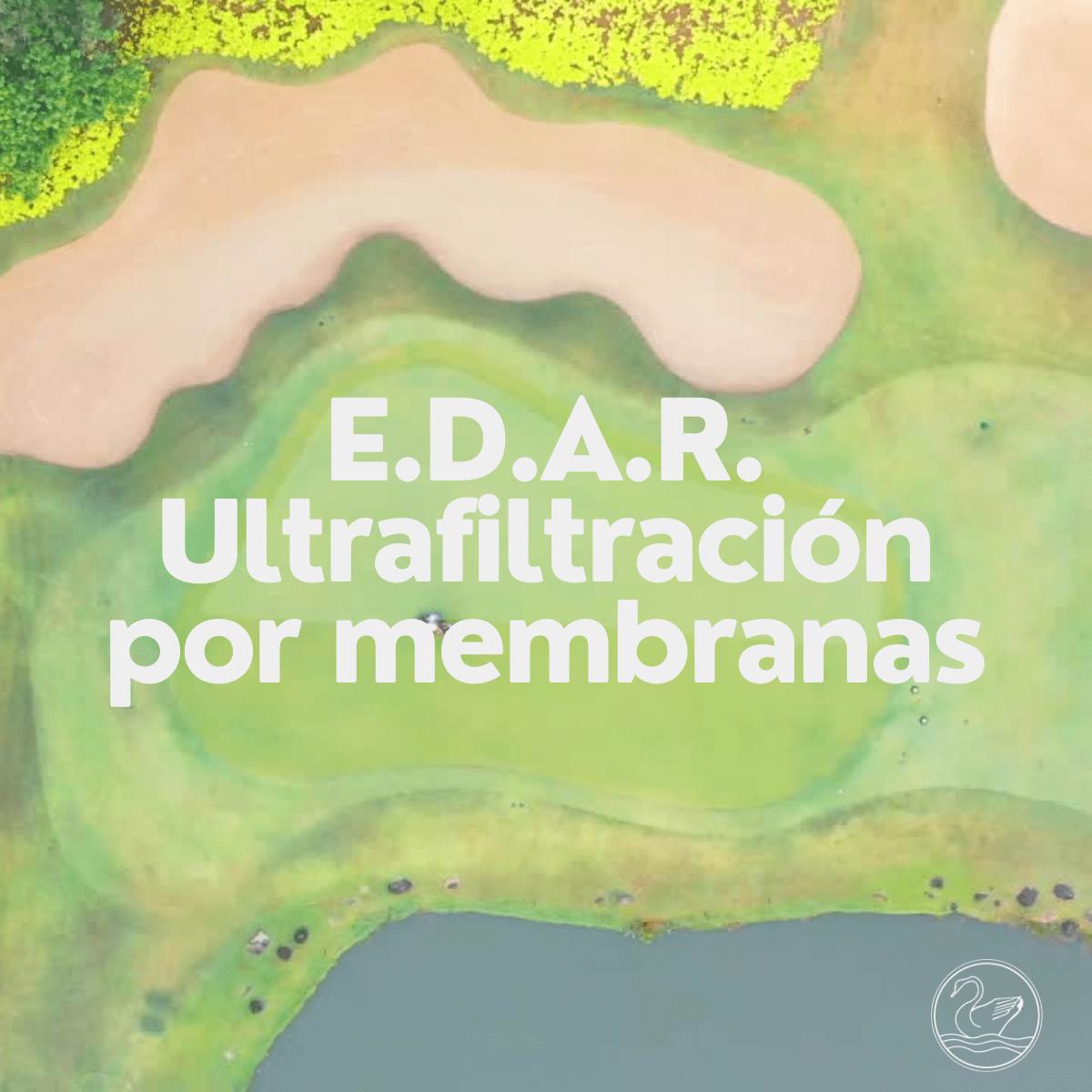 E.D.A.R. Ultrafiltración por membranas