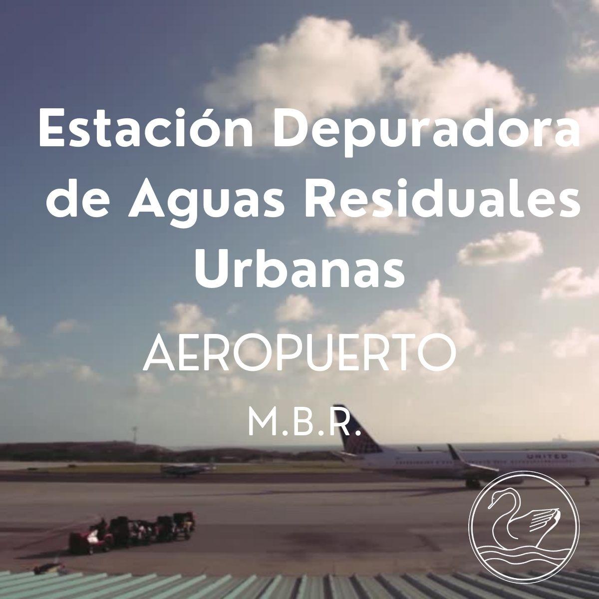 Obras realizadas: Estación Depuradora de Aguas Residuales - Aeropuerto